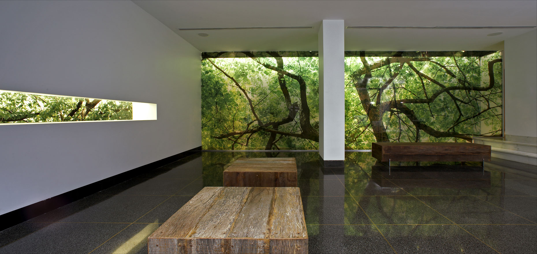 Architect parc 15 lobby nyc usa 1 for Residential interior design